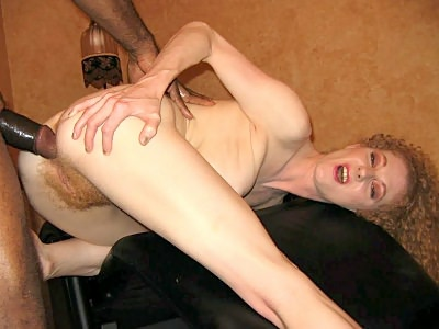 Ass Fucked Hirsute platinum blonde
